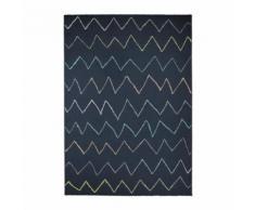 FAIRMONT Tapis contemporain - 160X230 cm - Nuit - Tapis et paillasson