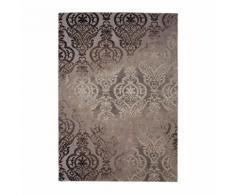 THEMA Tapis de salon 100% polyester 120x170 - Marron - Tapis et paillasson