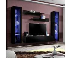 paris prix - meuble tv mural design 'fly ii' 260cm noirparis prix - meuble tv mural design 'fly ii' 260cm noir - autres