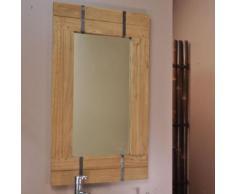 Miroir de salle de bain naturel LOFT 60x80 naturel - Miroir