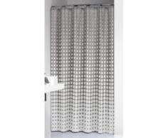 Sealskin 233601314 Rideau de douche Speckles, plastique, gris clair, 200 x 180 x 0,5 cm - Accessoires salles de bain et WC