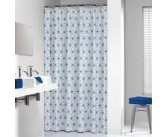 Sealskin Triangles Rideau de douche, bleu, 3 x 180 x 200 cm - Accessoires salles de bain et WC