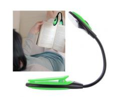 Lampe de lecture flexible LED pour livre, bricolage... - vert - Ampoules à LEDs