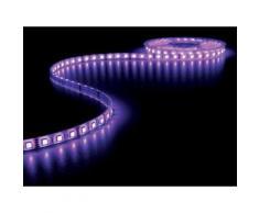 Flexible à led - rvb - 300 leds - 5m - 12v velleman lq12w230rgbn1 - Appliques et spots