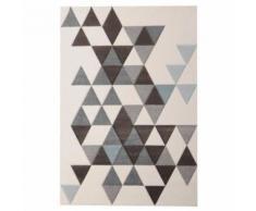 ELLA Tapis de salon 160x230cm - Blanc - Tapis et paillasson