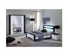 Judith noir - chambre 160x200cm - Armoire