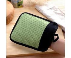 Alpexe Dessous de plat, manique et gant anti chaleur pour cuisine tout en 1 en tissus et silicon - Autres