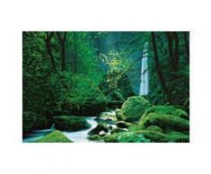 Cascades Papier Peint Photo/Poster - Forêt Noire, 4 Parties (194x270 cm) - Décoration murale