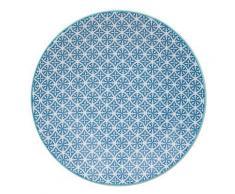 Table Passion - Assiette Plate Helyse 27Cm Bleu (Lot De 6) - vaisselle