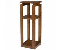 Sellette carrée en bois de mindi H90cm FREESIA - Tables d'appoint