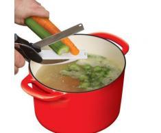 Hachoir 2 en 1 - Remplace vos couteaux de cuisine et planches à découper - Coupe fruits et légumes simplement - Robots de cuisine