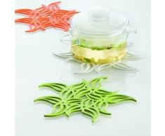Dessous de plat Flame Blanc - Koziol - linge de table et décoration