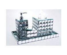 Set Accessoires Salle de Bain Diamond - Accessoires de bain