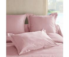 Lot de 2 taies d'oreiller TUTTI TEMPO 50 x 70 cm Rose dragée - Linge de lit