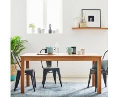 Table à manger en bois de teck 6 couverts - Tables salle à manger