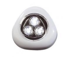 Lampe mobile à LED ''Stick & Push'' - Blanc - Appliques et spots