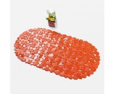 Tapis antidérapant classique en PVC Orange - Accessoires de bain
