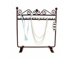 Porte bijoux porte bijoux cadre dressing bracelet collier et accessoire Rouille patiné - Objet à poser