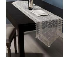 Chemin de table en macramé classique - linge de table et décoration
