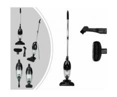 Aspirateur 2 en 1 balai et à main, balai éléctrique, noir, capacité du bac à poussière: 1,3l - Aspirateur et Nettoyeur