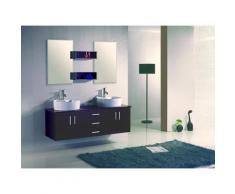 LAtlantic : Ensemble salle de bain, 2 vasques et 2 miroirs - Installations salles de bain
