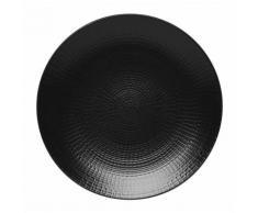 Les 6 assiettes creuses calottes PIERRE DE LAVE - Modulo Nature (Grès) par Guy Degrenne - vaisselle