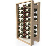 VISIORACK - Meuble de rangement en bois de 48 bouteilles - ACI-VIS300 - nologie