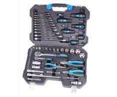 Work Men - Coffre à outils 55 pièces CRV - 60055CRV - Rangement de l'atelier
