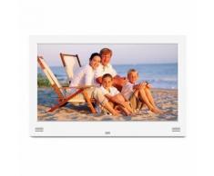 Cadre numérique 11 Pouces LED Lecteur Multimedia Photo HDMI SD Horloge - Cadre photo numérique