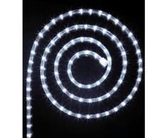 Tube lumineux guirlande à LED 24m Blanc de 8 fonctions -PEGANE- - Lampes