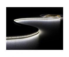 Flexible à led - blanc froid 6500k - 1080 led - 5m - 24v velleman lq24n680cw65n - Appliques et spots