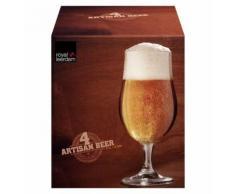 4 Verre A Biere Verre A Pied 37 Cl Deco Vaisselle - Autres