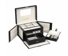 LANGRIA Boîte à Bijoux Mallette de Maquillage - Boite de rangement