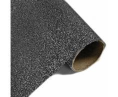 Rouleau Chemin de table effet en métal pailleté Noir - 28 cm x 5m - Objet à poser