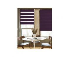 Store Enrouleur Occultant Uni Chocolat - 120 x 190cm - Fenêtres et volets
