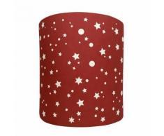 Suspension Etoiles De La Galaxie Flamboyante Lilipouce Rouge foncé 20 cm - Suspensions et plafonniers