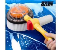 Brosse de Nettoyage Tournante avec réservoir pour savon intégré - Tuyau d'arrosage - Autres