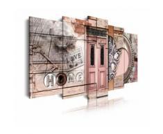 Tableau moderne sur toile. Urbain - Décoration murale