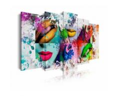 Tableau moderne sur toile. Abstractions - Décoration murale