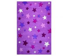 Tapis enfant Simple Stars Smart Kids Rose 110x170 - Tapis et paillasson