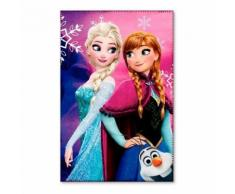 Plaid polaire la Reine des Neiges couverture Frozen 2 - Textile séjour