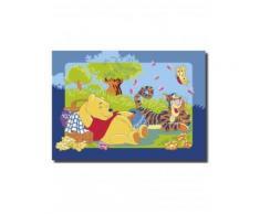Tapis WINNIE L'OURSON PICNIC Tapis Enfants par Winnie 95 x 133 cm - Tapis et paillasson