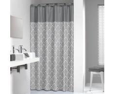 Sealskin Rideau de douche angoli 180 cm Gris 233561312 - Accessoires salles de bain et WC