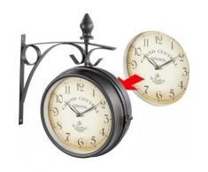 horloge de gare acheter horloges de gare en ligne sur livingo. Black Bedroom Furniture Sets. Home Design Ideas