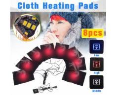 Électrique Gilet chauffant en tissu Veste USB thermique chaud coussin chauffant Hiver chaud Corps wedazano39 - Équipements électriques domotique