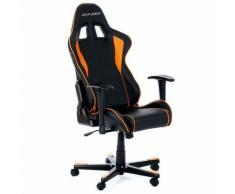 Siege formula f08 noir/orange - Sièges et fauteuils de bureau
