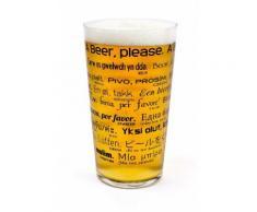 Verre à Pinte de bière Comment Commander Une Bière dans 26 Languages- Transparent - Meubles de cuisine