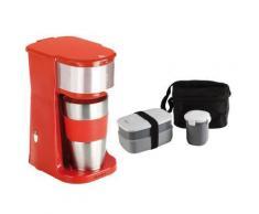 Lunch box isotherme + Cafetière avec mug isotherme - Conservation