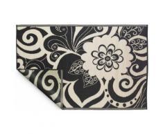 Fabhabitat - Tapis intérieur extérieur Maui noir et crème 180 x 120 cm - Tapis et paillasson