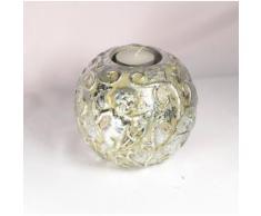 Bougeoir en céramique argent avec ange - Autres